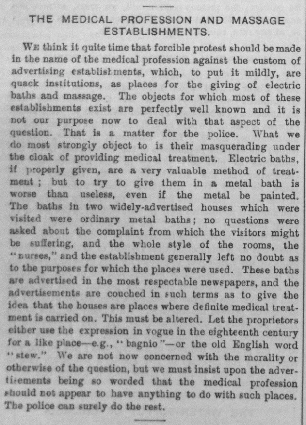 The Lancet, 20 Feb 1897, p.538