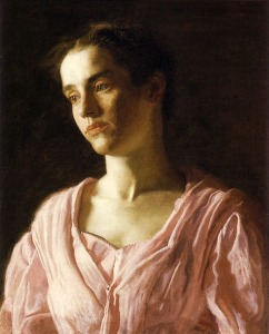 Portrait of Maud Cook by Thomas Eakins (1895)