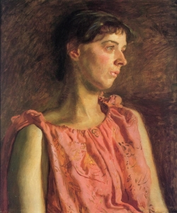 Portrait of Weda Cook by Thomas Eakins (c.1895)