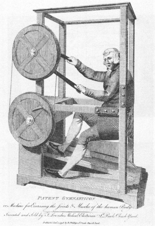patent gymnasticon